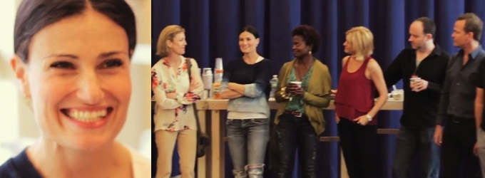 STAGE TUBE: OMG! First Listen and Look at the Cast and Rehearsal of IF/THEN
