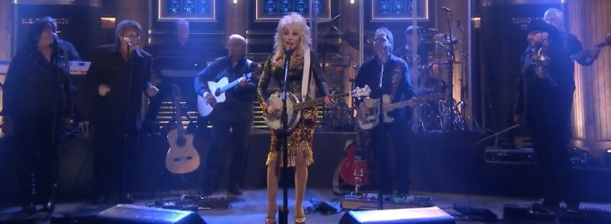 VIDEO: Dolly Parton Performs New Song 'Home' on FALLON