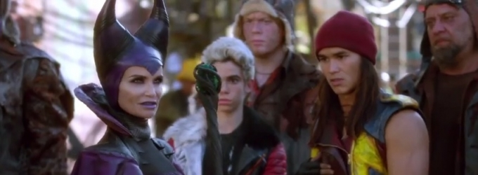 VIDEO: First Look - Kristin Chenoweth Stars as 'Maleficent' in Disney's DESCENDANTS