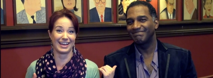 BWW TV Exclusive: BACKSTAGE WITH RICHARD RIDGE- Best Pals and New PHANTOM Stars Norm Lewis and Sierra Boggess!