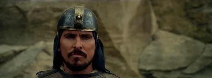 VIDEO: First Look - Christian Bale Stars in Biblical Epic EXODUS: GODS AND KINGS
