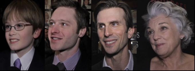BWW TV: Chatting with the Company of MOTHERS AND SONS on Opening Night!