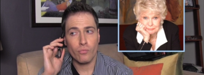 BWW TV EXCLUSIVE: CHEWING THE SCENERY WITH RANDY RAINBOW - Randy Gossips X FACTOR, Jonathan Groff and More with Elaine Stritch!