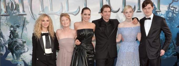 Photo Flash: Angelina Jolie, Brad Pitt & More Attend MALEFICENT's World Premiere