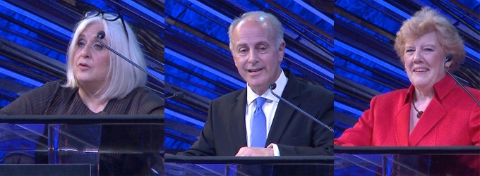 BWW TV: Joan Marcus, Joe Benincasa & Charlotte Wilcox Accept Tony Honors for Excellence in the Theatre!