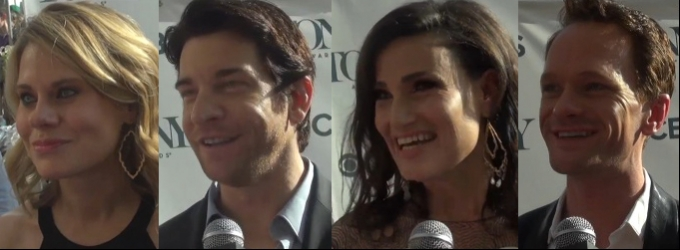 BWW TV: It's Tonys Week! Nominees Talk Sunday's Ceremony, What They're Wearing & More!