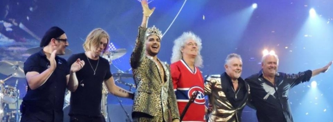 Photo Flash: Adam Lambert & Queen Rock Madison Square Garden