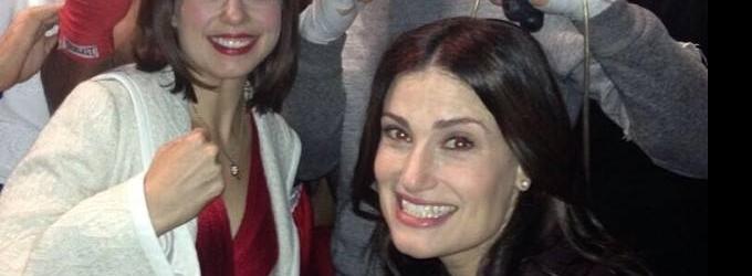 Idina Menzel Shares Selfies & Tweets From Tony Awards Rehearsal