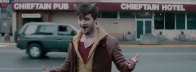 VIDEO: First Look at Daniel Radcliffe in Supernatural Thriller HORNS Revealed at Comic Con