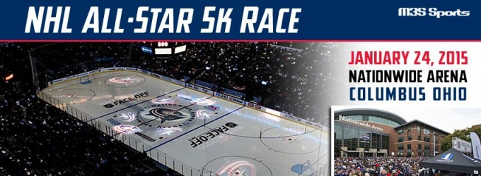 THE COLUMBUS BLUE JACKETS and NHL Host First NHL ALL-STAR 5K, 1/24
