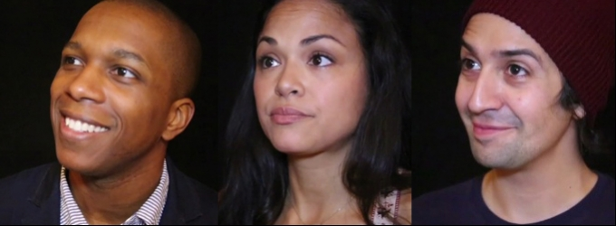 BWW TV: Chatting with the Company of TICK, TICK...BOOM!- Lin-Manuel Miranda, Karen Olivo and Leslie Odom Jr & More!