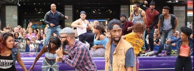 VIDEO: Cast of HOLLER IF YA HEAR ME Performs 'California Love' on GMA