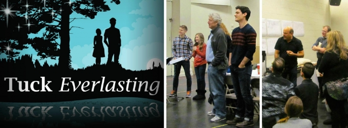 Photo Flash: In Rehearsal for World Premiere of TUCK EVERLASTING with Andrew Keenan-Bolger, Casey Nicholaw & More!