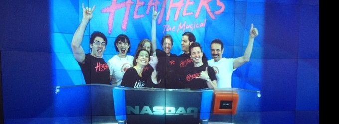 Heathers Cast Rings NASDAQ's Opening Bell