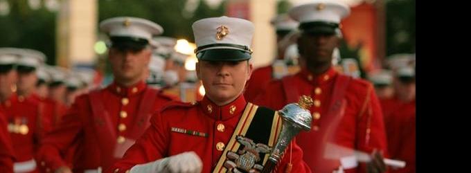 U.S. Marines Drum & Bugle Corps Perform HAIRSPRAY Live