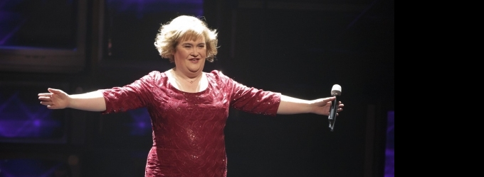 Susan Boyle Set For LIVE! WITH KELLY & MICHAEL, 6/25
