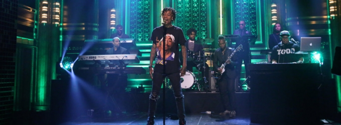 VIDEO: Wiz Khalifa Performs 'Stayin' Out All Night' on TONIGHT SHOW