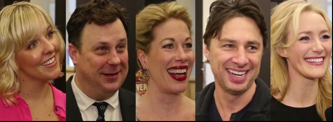 BWW TV: Chatting with the Company of BULLETS OVER BROADWAY- Zach Braff, Marin Mazzie & More!