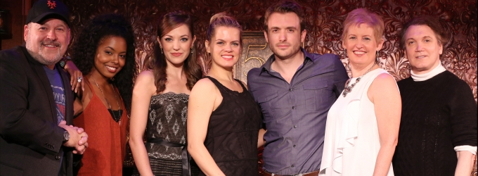 Photo Coverage: Frank Wildhorn, Laura Osnes and More Preview 54 Below Shows
