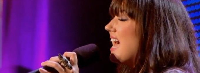 STAGE TUBE: Potter Watch - Rachel Sings 'Somebody to Love' on X FACTOR