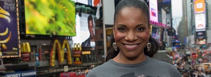 Audra McDonald Goes Grey For World Elephant Day