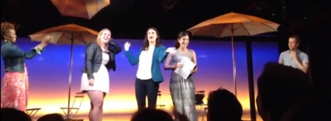 STAGE TUBE: Must Watch! More RENT from IF/THEN; Idina Sings 'Take Me or Leave Me' with Lucky Audience Members!