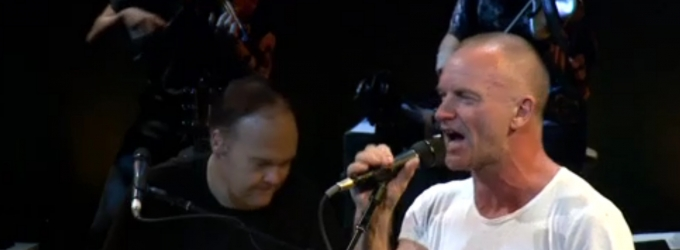 BWW TV: Sting Previews Songs from THE LAST SHIP at Public Theater Benefit Concerts; Watch Highlights!