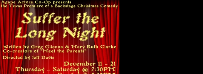 BWW Reviews: SUFFER THE LONG NIGHT is a Riotously Funny Evening of Farce and Laughter