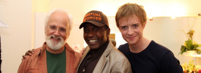 Photo Flash: Ben Vereen Reunites With PIPPIN Cast on National Tour