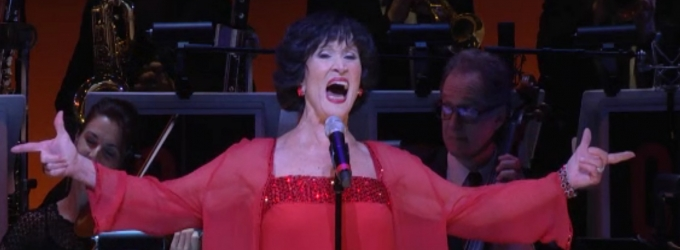 BWW TV Exclusive: Watch Chita Rivera Sing 'All That Jazz' in Her Birthday Concert Curtain Call!