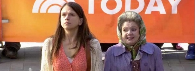 VIDEO: Sutton Foster & Cast of VIOLET Perform 'On My Way' on Today