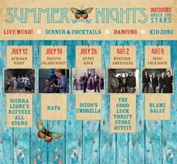 The Kanbar Center's 2014 Summer Nights Festival of Outdoor Multi-Cultural Music & More Opens with Sierra Leone's Refugee All Stars on July 12 at the Osher Mar