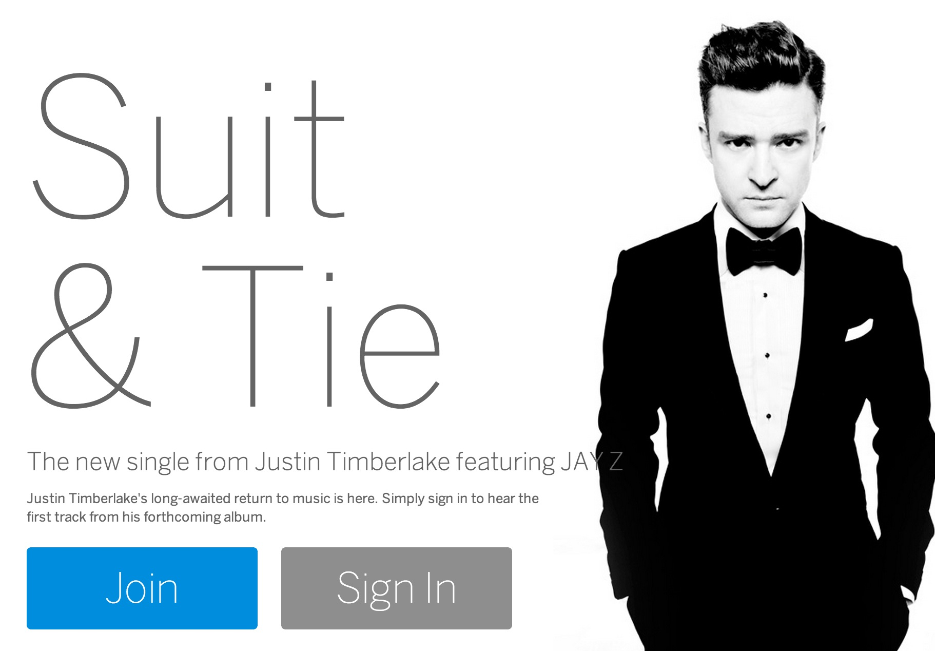 The New MySpace is Here - Justin Timberlake Puts a Suit on To Get You to Use It
