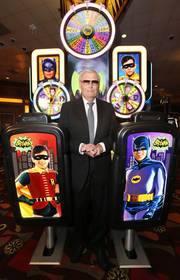 Adam West Makes Special Appearance to Launch Aristocrat's Batman Classic TV Series Slot Game