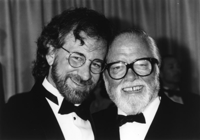 Quote from Steven Spielberg on Richard Attenborough