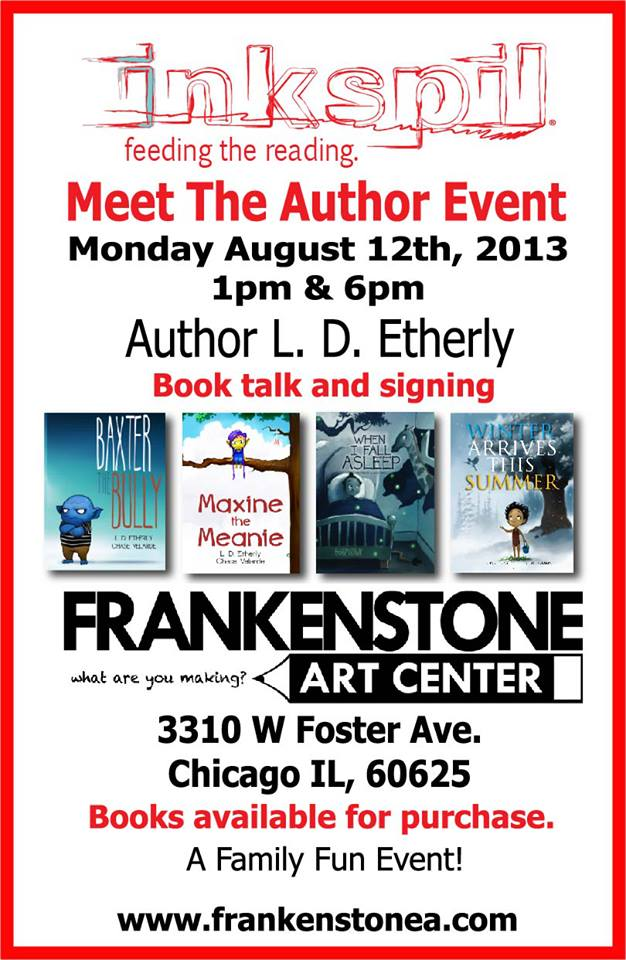 Inkspil Hosts Meet the Author Event, 8/12