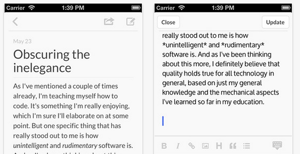 Poster, Mobile WordPress Blog Editor Releases 2.0 on the App Store