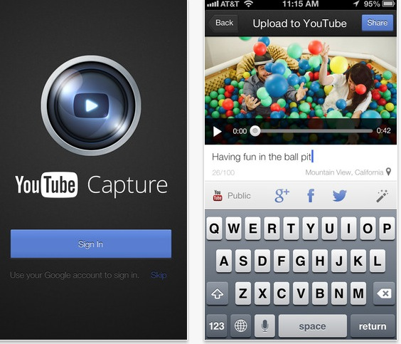 YouTube App Now Lets You Upload in 1080p!