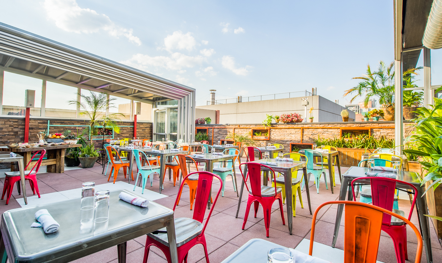 Bww previews cantina rooftop in nyc is now open for Food bar cantina rijeka