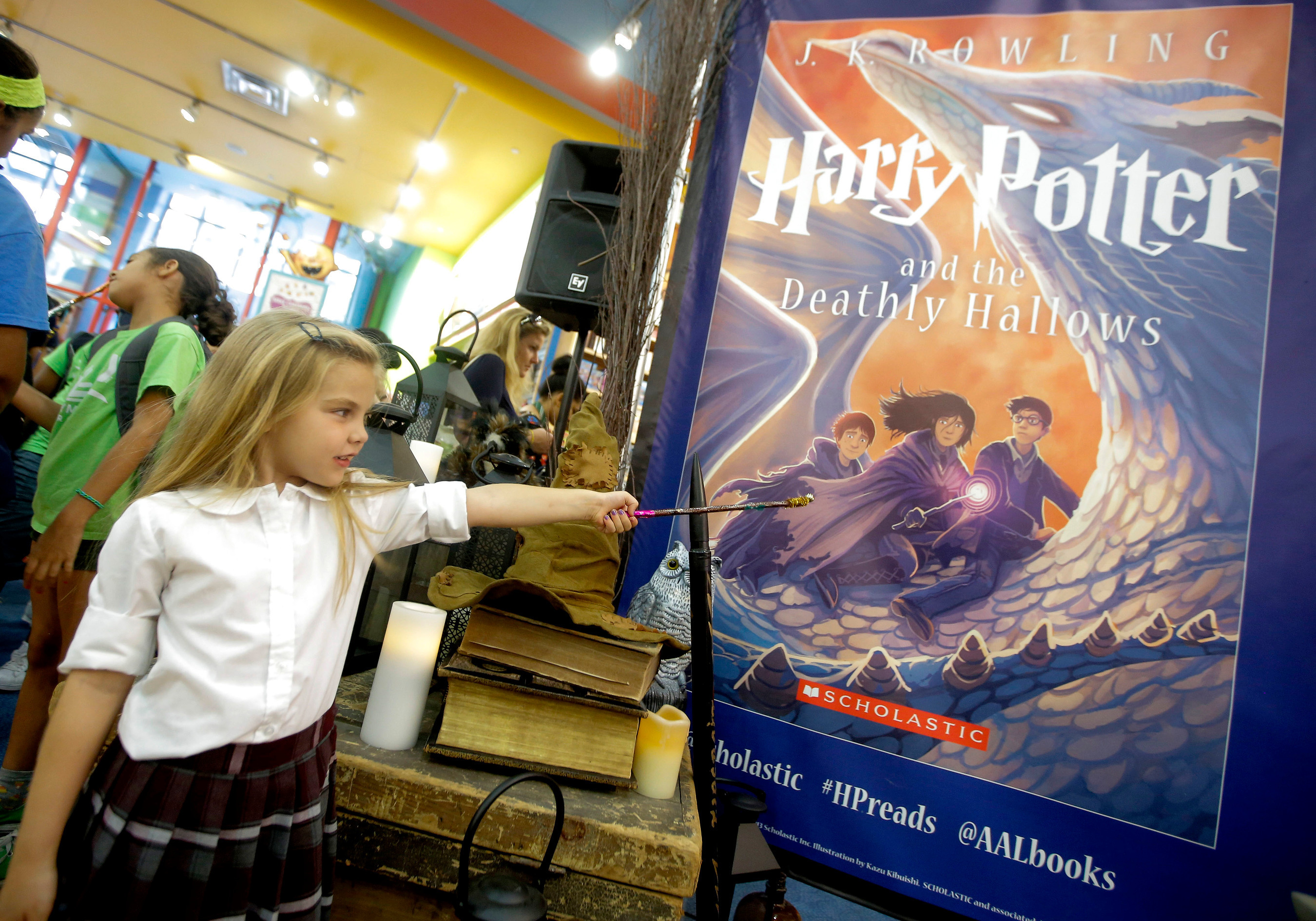 The Scholastic Store Presents HARRY POTTER MONTH, July