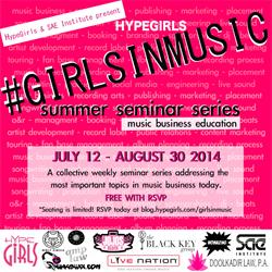 SAE Institute Miami Presents 'Girls In Music' Educational Seminar Series