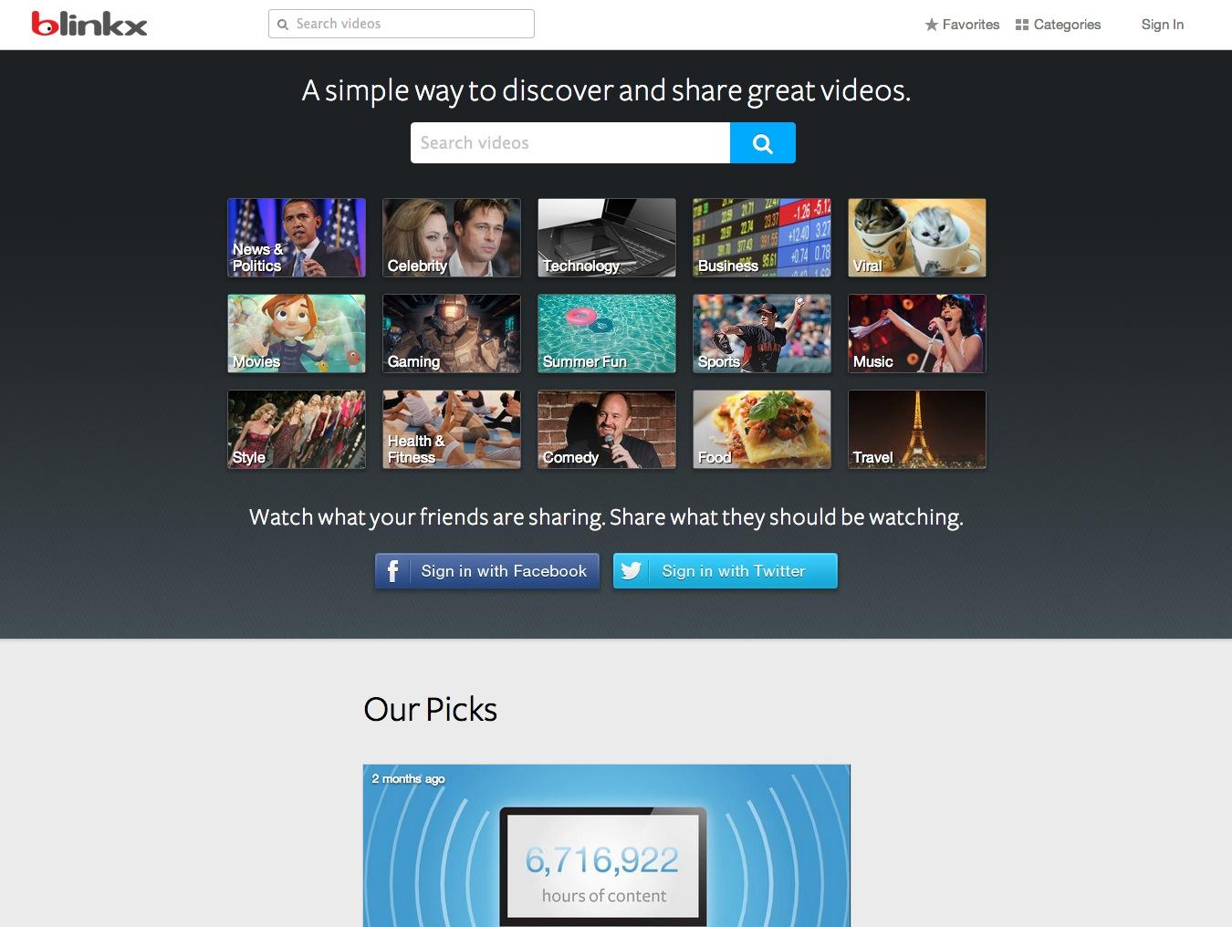 blinkx Introduces Beta Version of blinkx VideoAdvantage