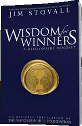 Jim Stovall Enlightens Readers with WISDOM FOR WINNERS