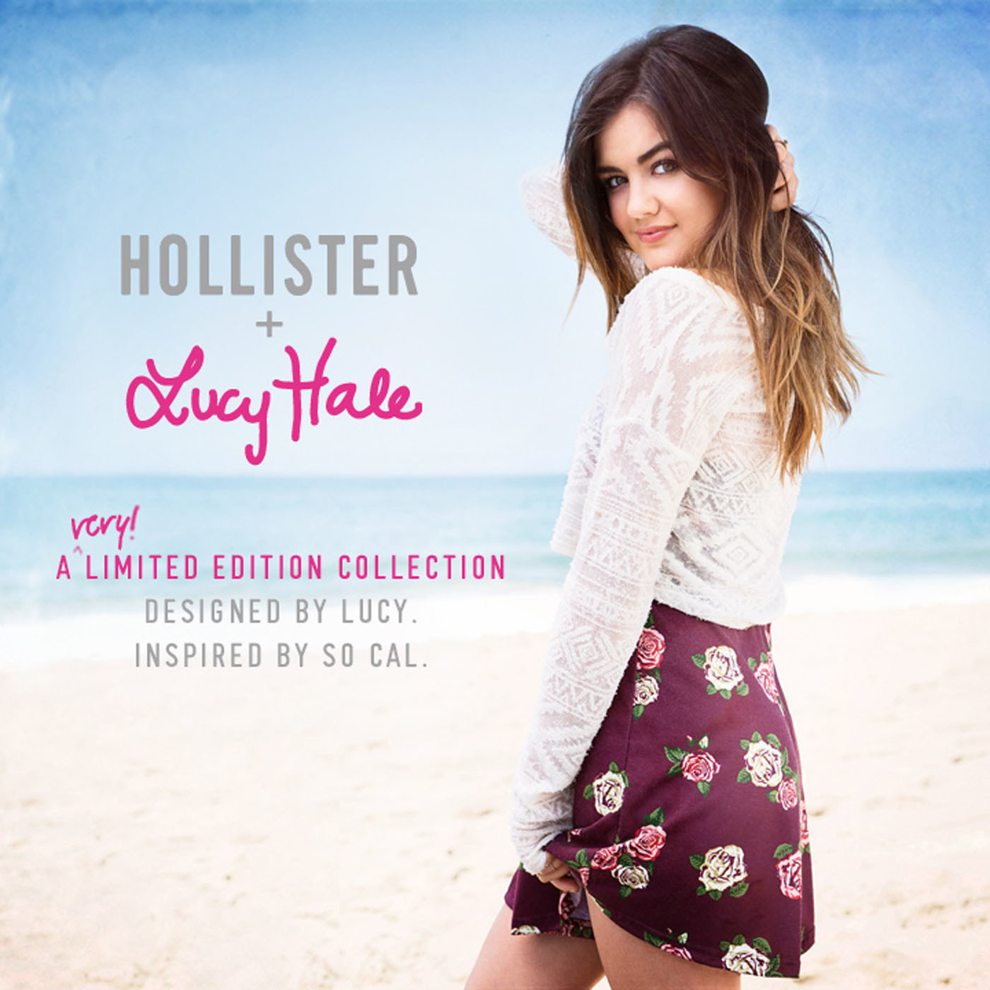 Lucy Hale Debuts First Collection for Hollister