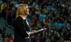 Best-selling Christian Author Karen Kingsbury Speaks at Liberty University