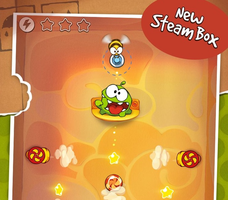 Om Nom Releases New Level Pack Update to Cut the Rope