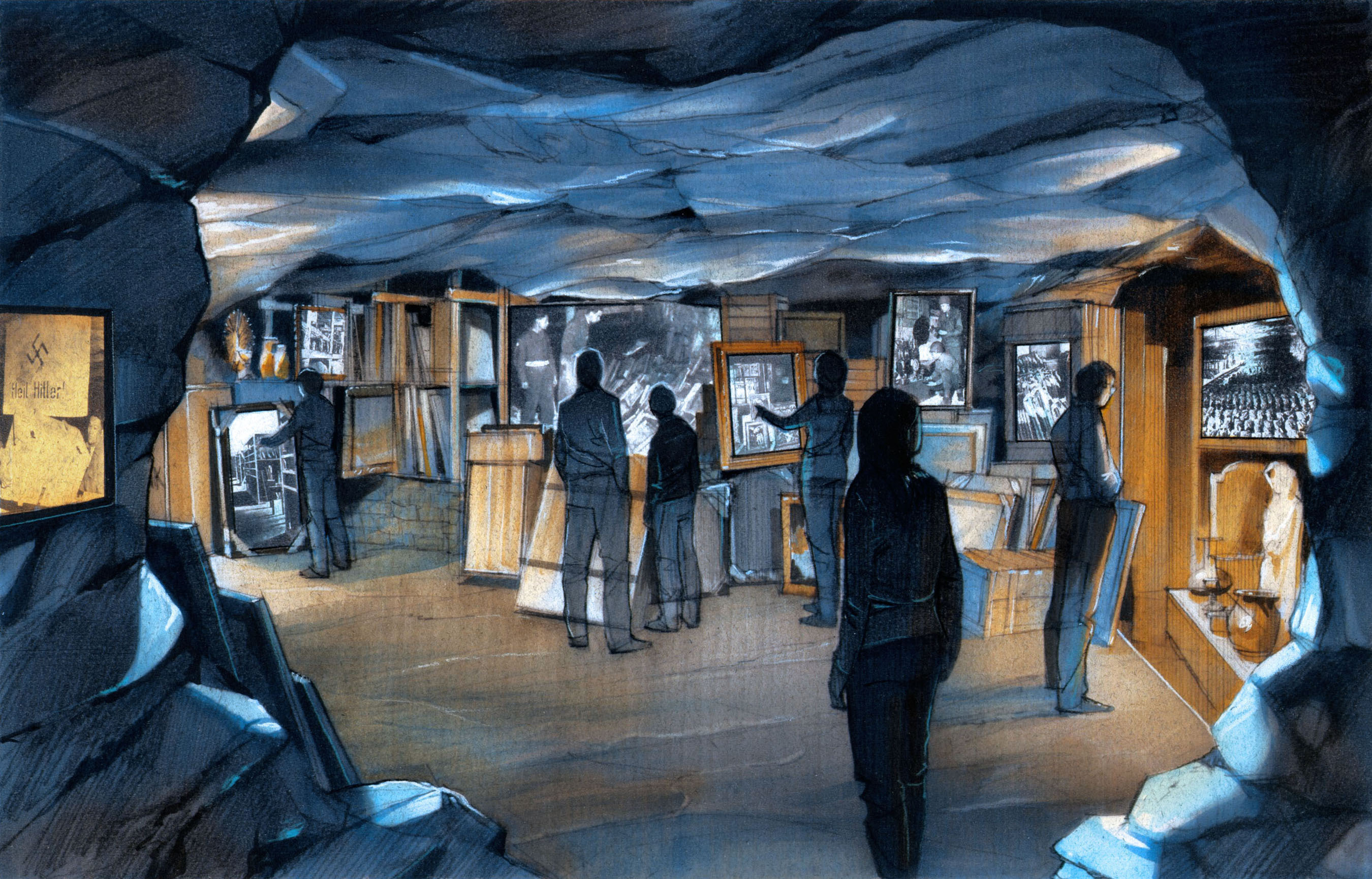 The National WWII Museum to Unveil the Permanent MONUMENTS MEN GALLERY