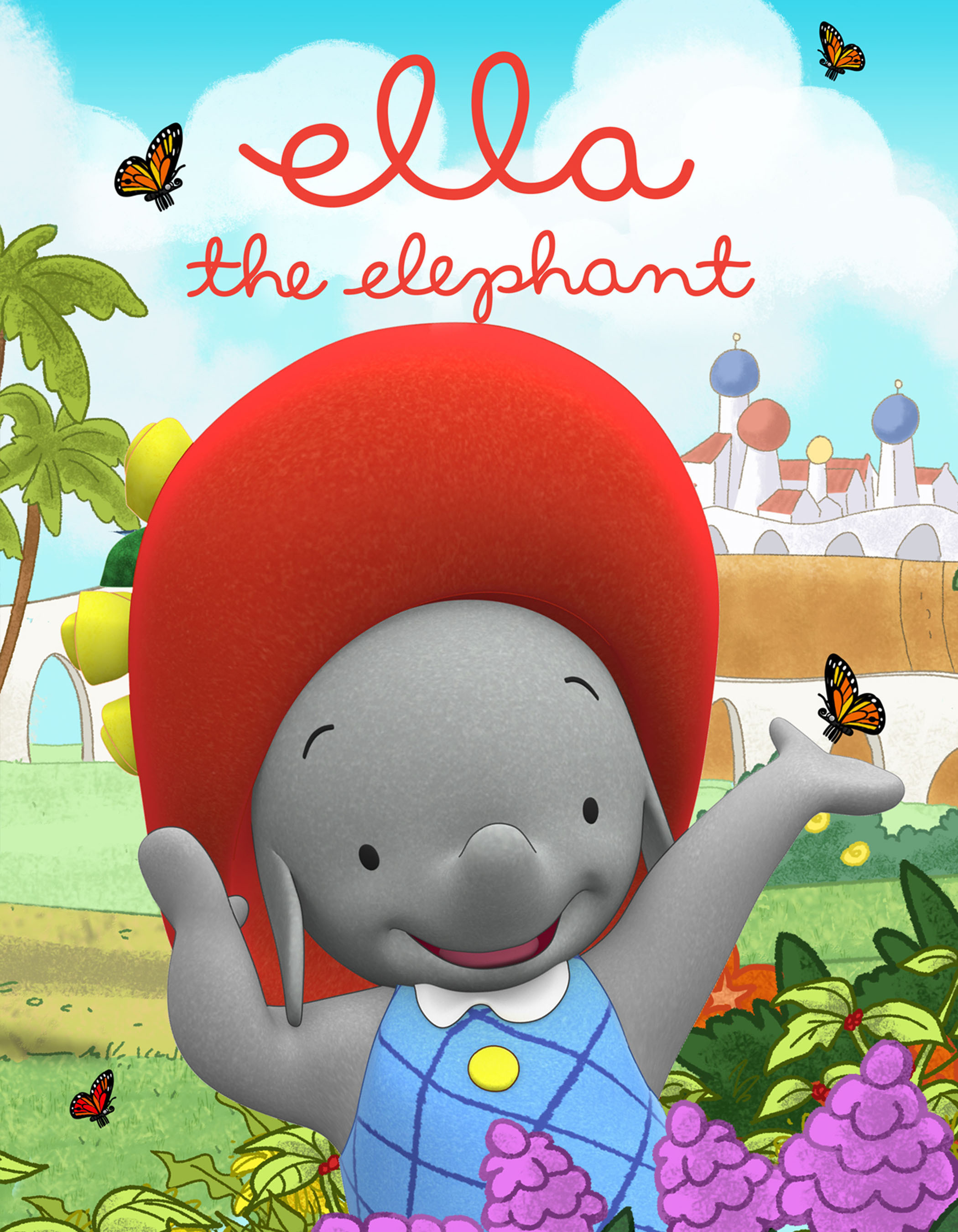 Disney Channel to Debut New Animated Preschool Series ELLA THE ELEPHANT, 2/17