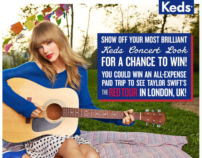 Win a Trip to London to See Taylor Swift's European 'RED Tour'!