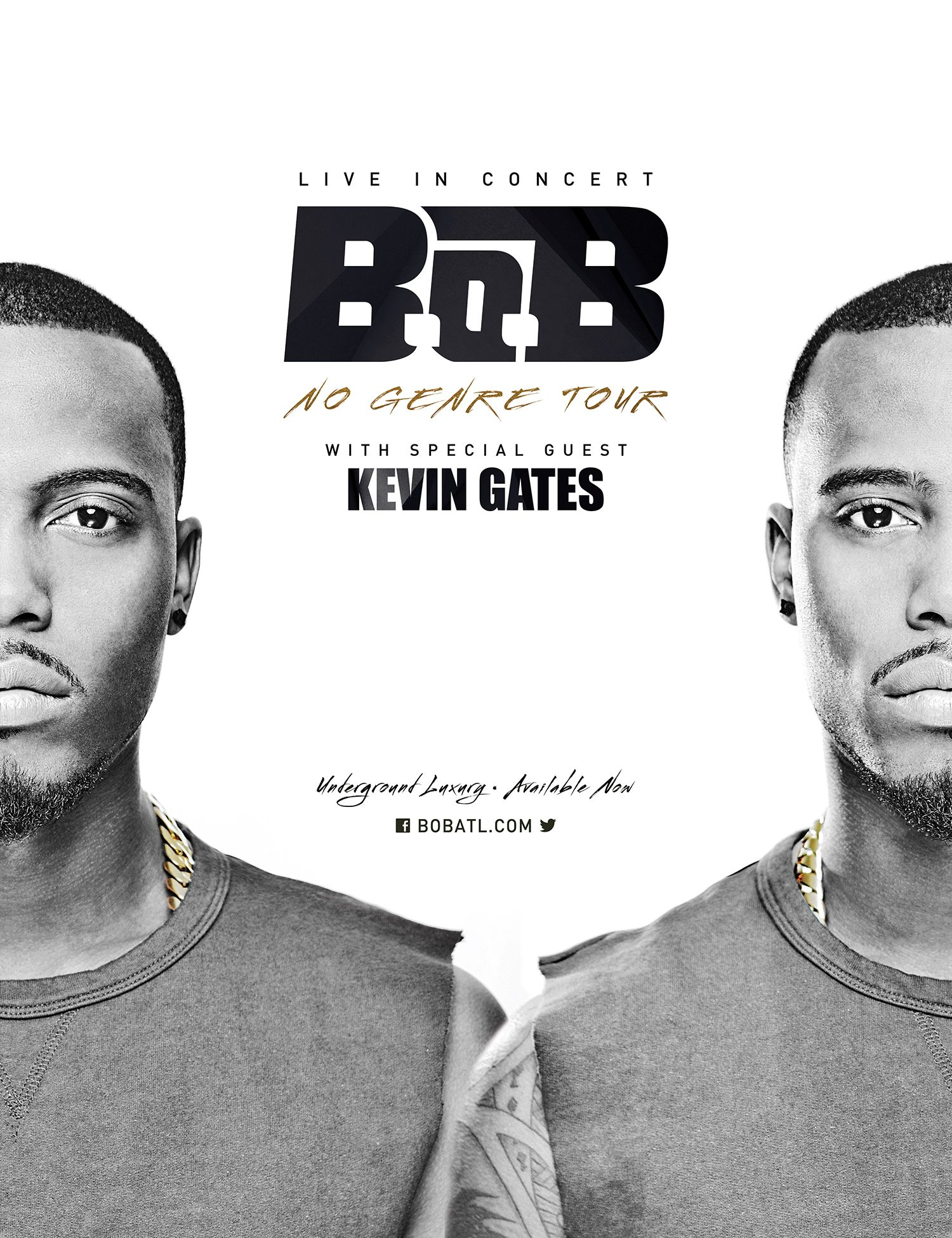 B.o.B Announces  'The No Genre Tour' Beginning This October